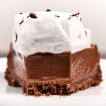 Torta Mousse de Chocolate Super Cremosa (French Silk Pie)