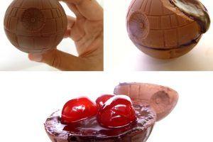 Star Wars: Estrela da Morte de Chocolate
