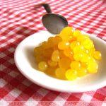 Caviar de Maracujá feito com Agar