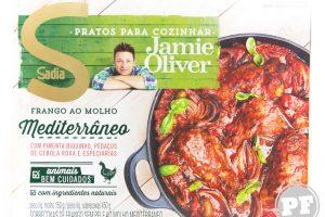 PraComer: Frango ao Molho Mediterrâneo do Jamie Oliver