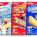 Resenha: Barras de Sucrilhos, RiceMallow e Froot Loops da Kellogg's
