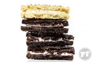 PraComer: Golden Oreo de Baunilha,Chocolate e Morango