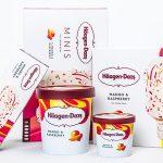 Häagen-Dazs atualiza embalagens na busca por público jovem