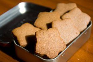Ginger Biscuit: Biscoito de Gengibre