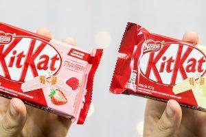 Resenha: Kit Kat Morango e Kit Kat Limão Edição Limitada feitos no Brasil