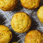 Muffin de Fubá e Milho