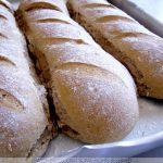 Pão de Fermento Natural tipo Sourdough