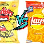 Comparativo: Ruffles Queijo e  Lay's Cheese