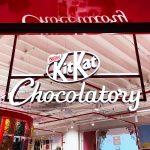 Kit Kat diferentes da loja Kit Kat Chocolatory em São Paulo