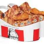 Colaboração do KFC x Crocs: Crocs de Frango Frito